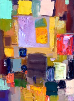 Bold Colorfield Abstract