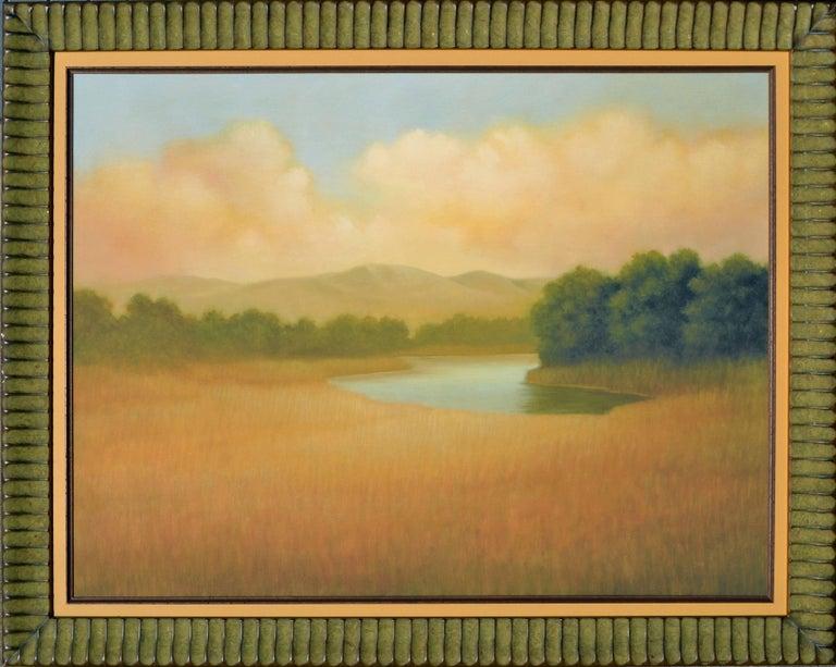 Donna McGinnis Landscape Print - Sonoma Mountains