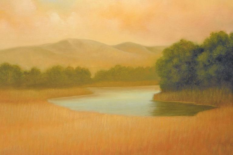 Sonoma Mountains - American Impressionist Print by Donna McGinnis