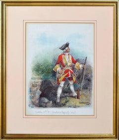Muskateer 28th Foot (Gloucestershire Regiment) 1746