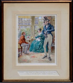 Pendennis, Captain Costigan and Miss Fotheringay Rare