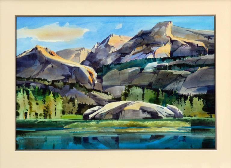 Wilderness Pass - Painting by Dale Laitinen