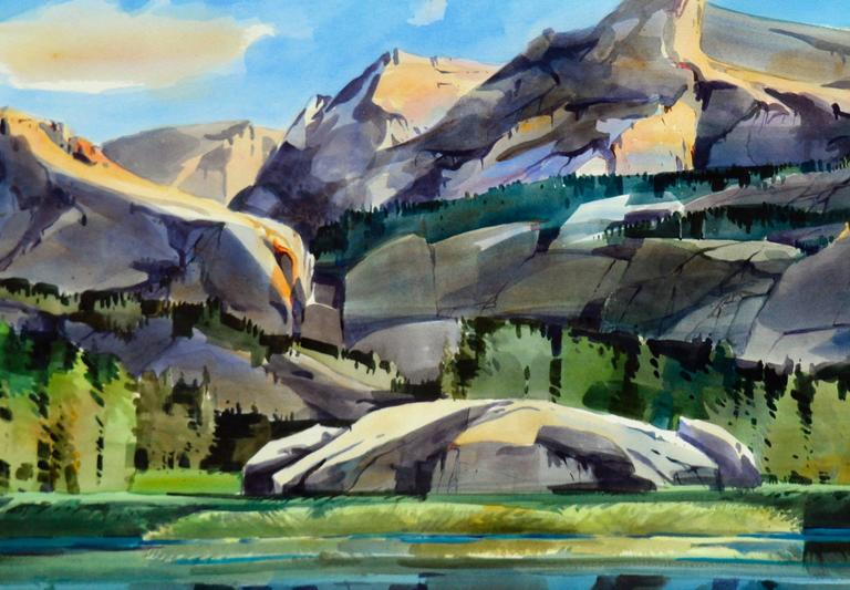 Wilderness Pass - American Impressionist Painting by Dale Laitinen
