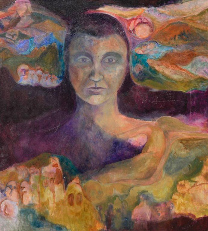 Woman of the Earth by Renard - Painting by Unknown