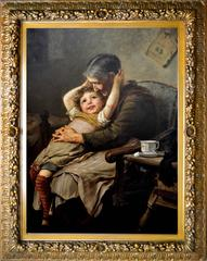 A Grandmother's Love, 1888 by Paul Wagner
