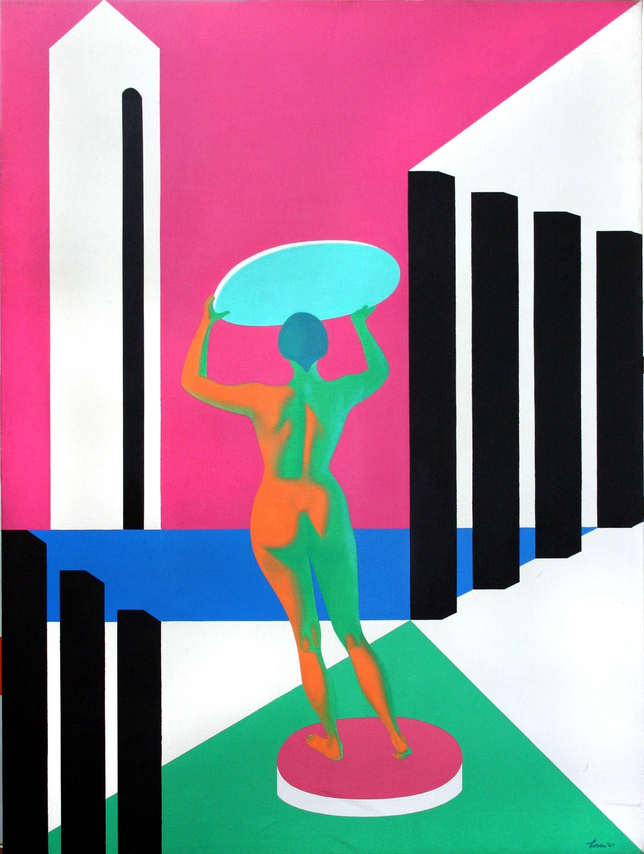 """Olympic Star"" - Pop Art Figurative"