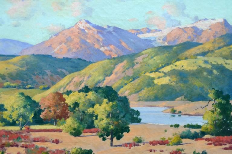 Rocks of Colorado Landscape  - American Impressionist Painting by Robert Jacob Richard
