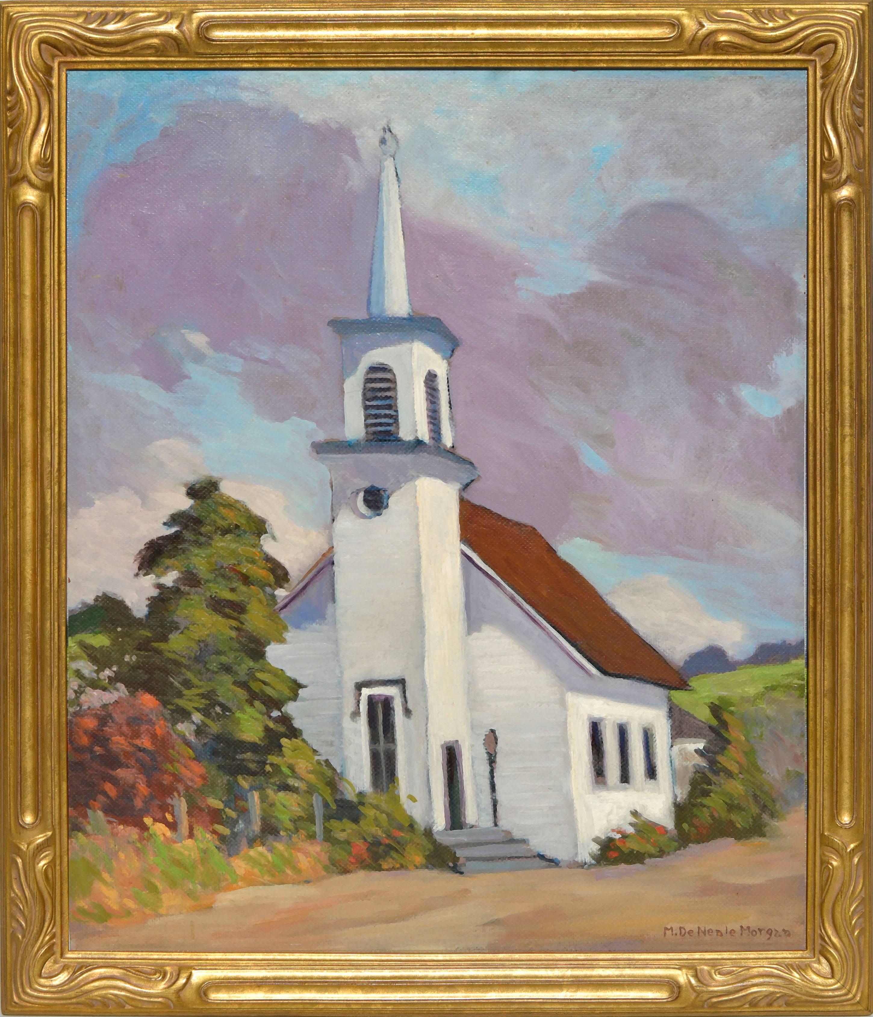 Congregational Church of Soquel, California by Mary DeNeale Morgan 1920