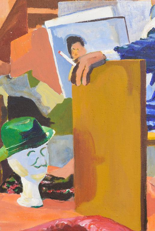 Bay Area Figurative Movement - Painting by Patricia Gren Hayes