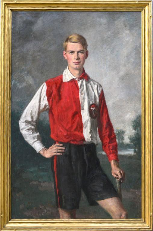 Richard Scholtz - Field Hockey Fullback Netherlands Olympic Team 1928 1