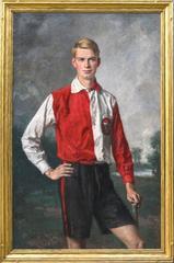 Field Hockey Fullback Netherlands Olympic Team 1928