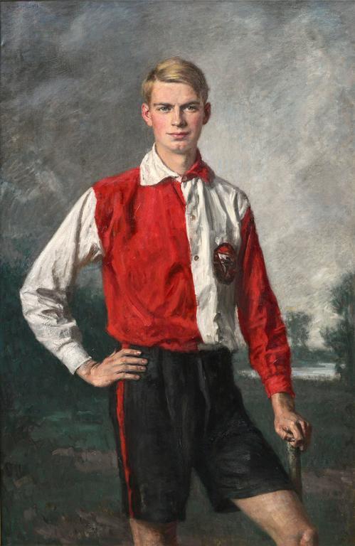 Field Hockey Fullback Netherlands Olympic Team 1928 2