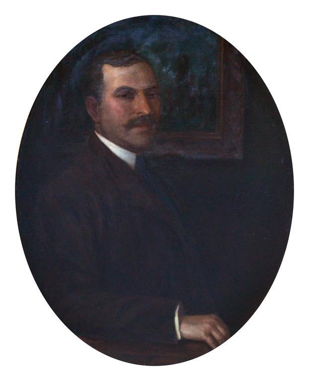Fine Gentleman - Painting by Joseph David Greenbaum