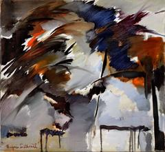 Storm Warnings Berkeley School Abstract Expressionist 1963
