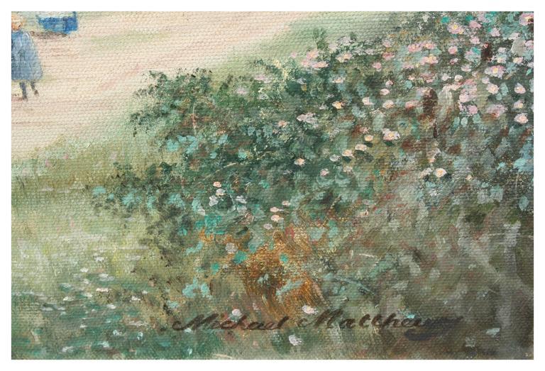 Romantic English landscape titled