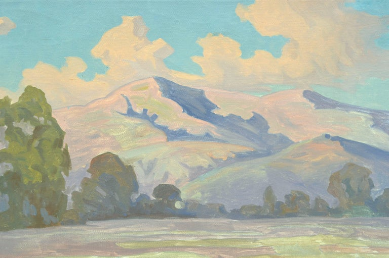 Mount Tamalpais, Summer's End - Painting by Unknown