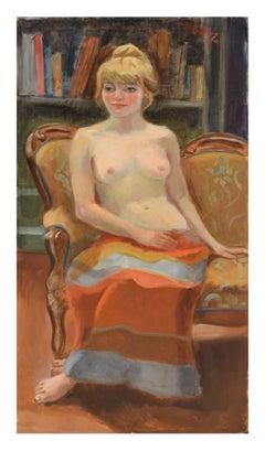 Demure Nude by Margaret Ziegler