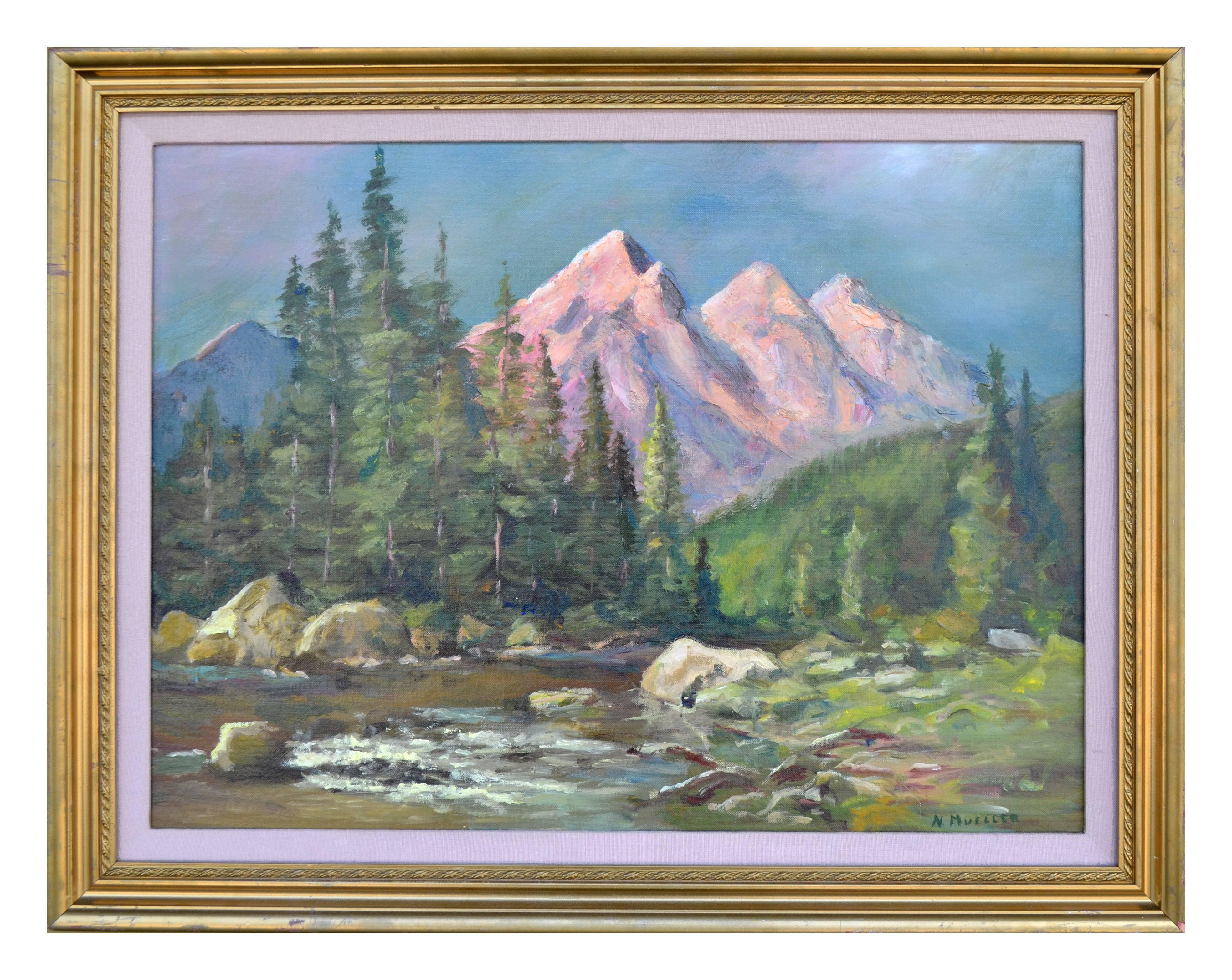 Three Sisters Peaks - Majestic Oregon Landscape