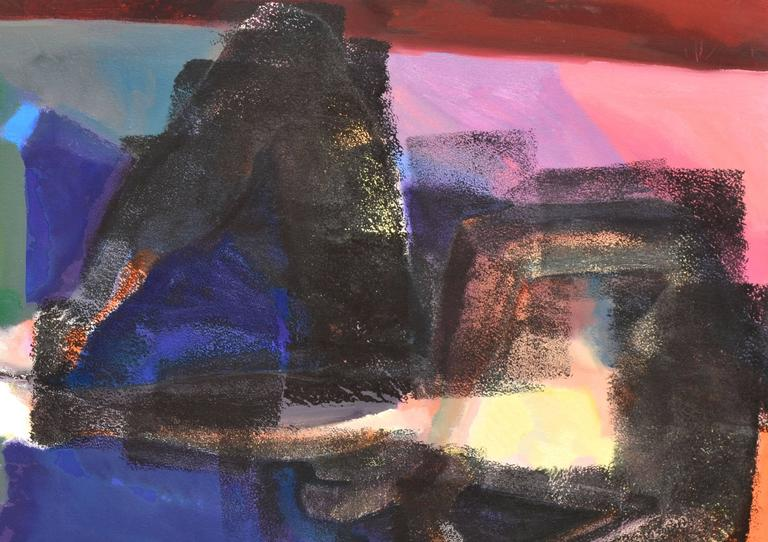 Reclining Figurative Abstract - Painting by Unknown