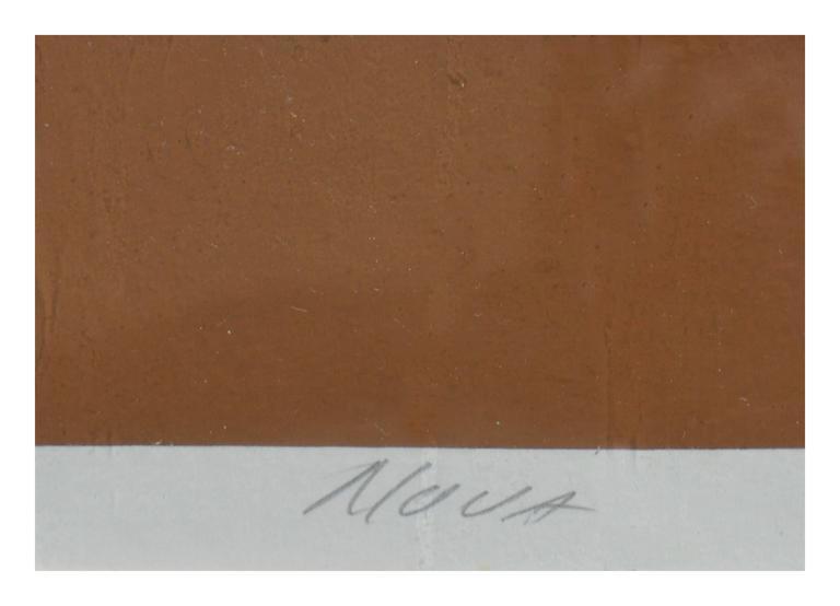 Nova Abstract  - Brown Abstract Print by Mark Rowland