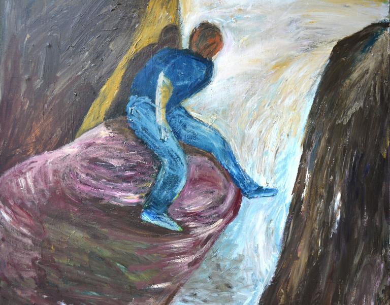 Separate Premises - Painting by Pat Klein