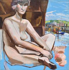 Nude Study in Sausalito by Ptricia Gren Hayes