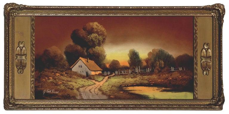 Albert Francis Glatthaar Landscape Art - Country Cottage