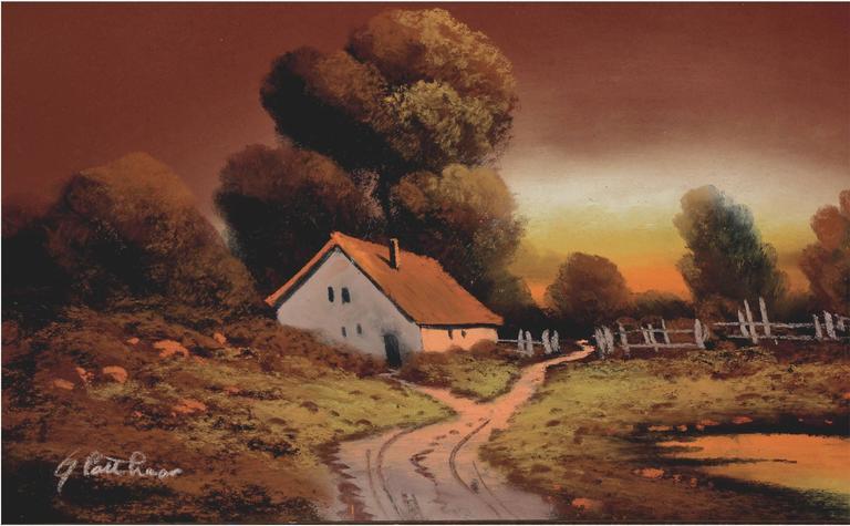 Country Cottage - Art by Albert Francis Glatthaar
