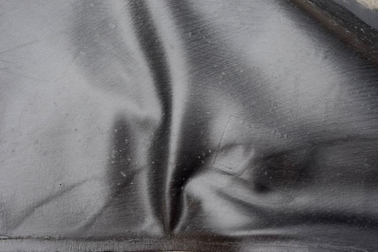 Gutai Object, Paris Period Takesada Matsutani - Gray Abstract Sculpture by Takesada Matsutani