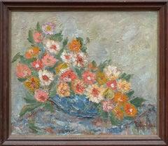 Mid Century Floral Still Life
