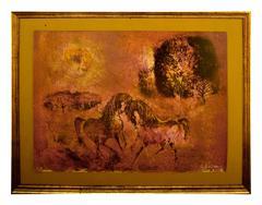 Coursiers dans la Lumiere, Dancing Horses