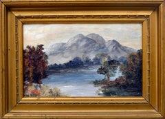 Scottish Reflections, Ben Venue and Loch Achray Scotland John Copeland