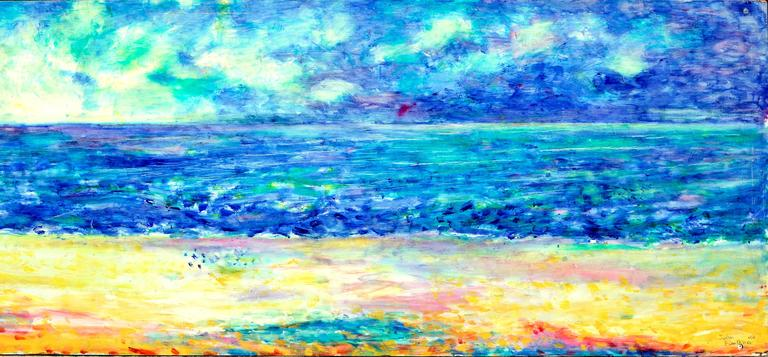Northern California Coastlands - American Impressionist Painting by John Faulkner