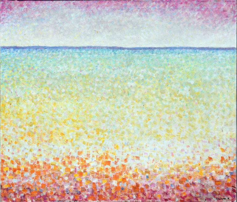 Ocean Suite #1 - Painting by John Faulkner