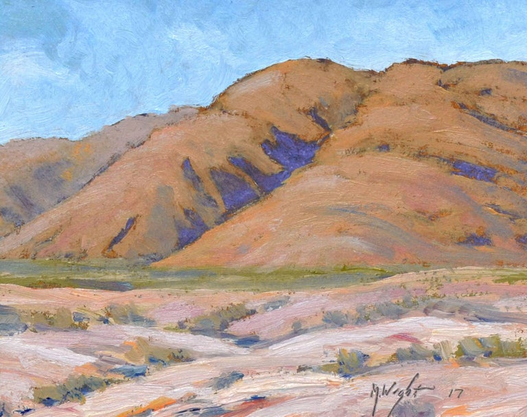 Desert Mountains Landscape - Painting by Michael Wright