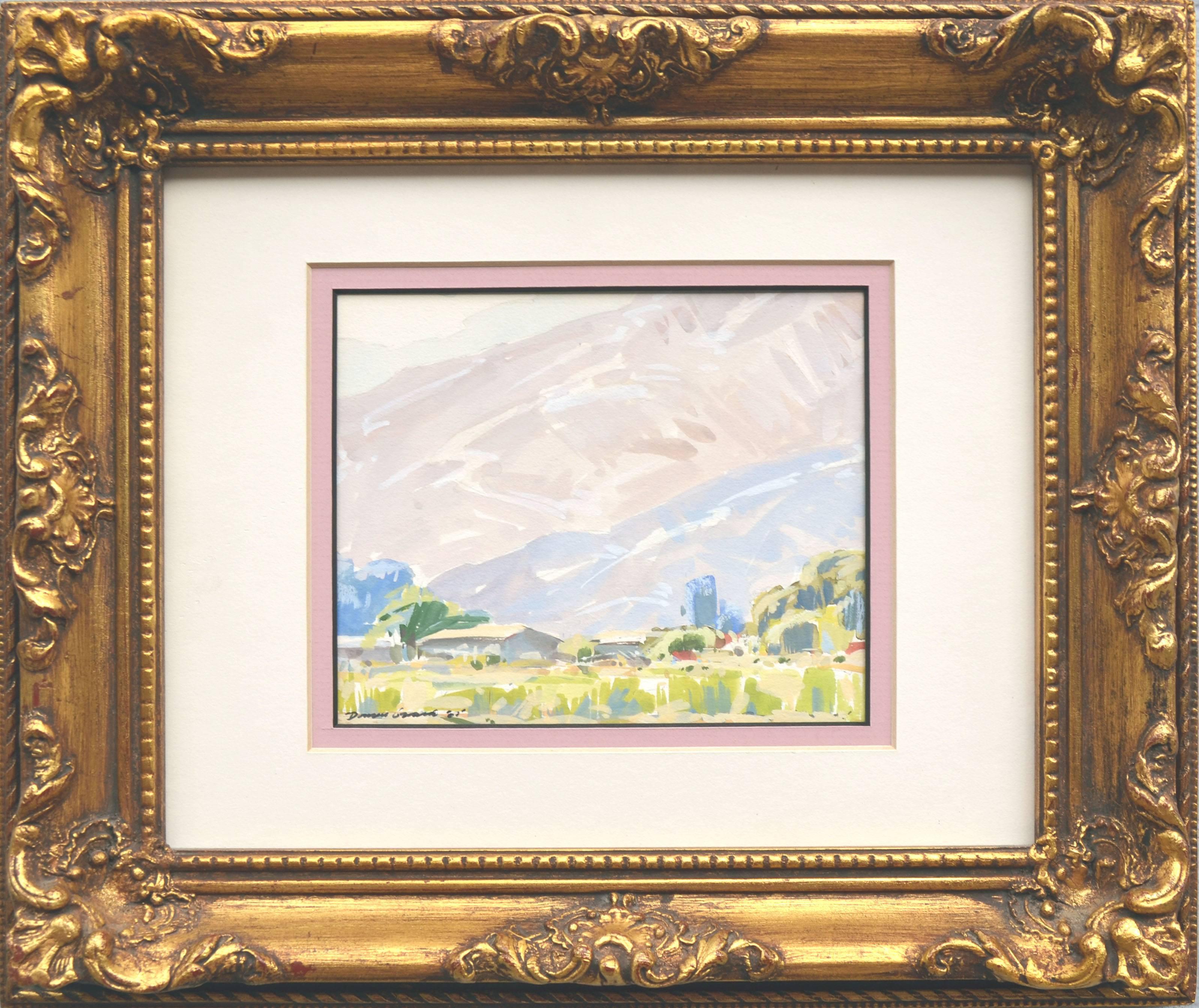Blue Hills Landscape