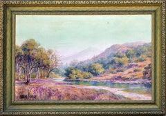 Alameda River Below Mt. Tamalpais Landscape