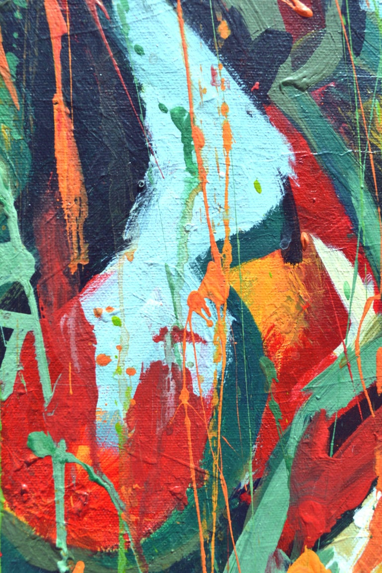 Early Morning - Layton - Abstract Expressionist Painting by Unknown