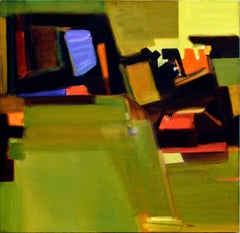 """""""A Rented Room"""" - Geometric Abstract"""