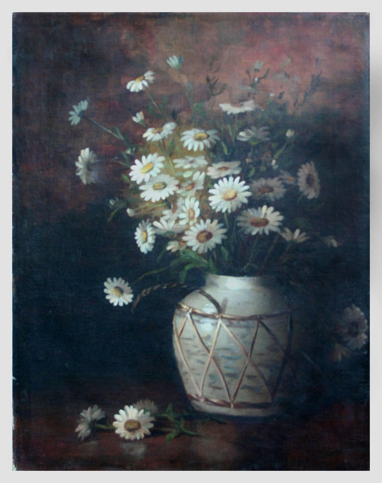 Daisies in a Jug by Claude Buck