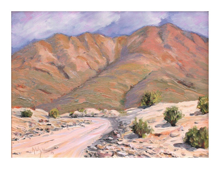 Road to Death Valley - Painting by Mike Wright