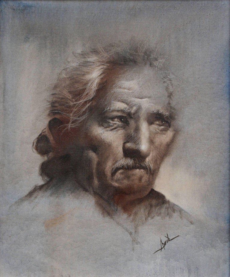 Portrait of a Man - Painting by Unknown
