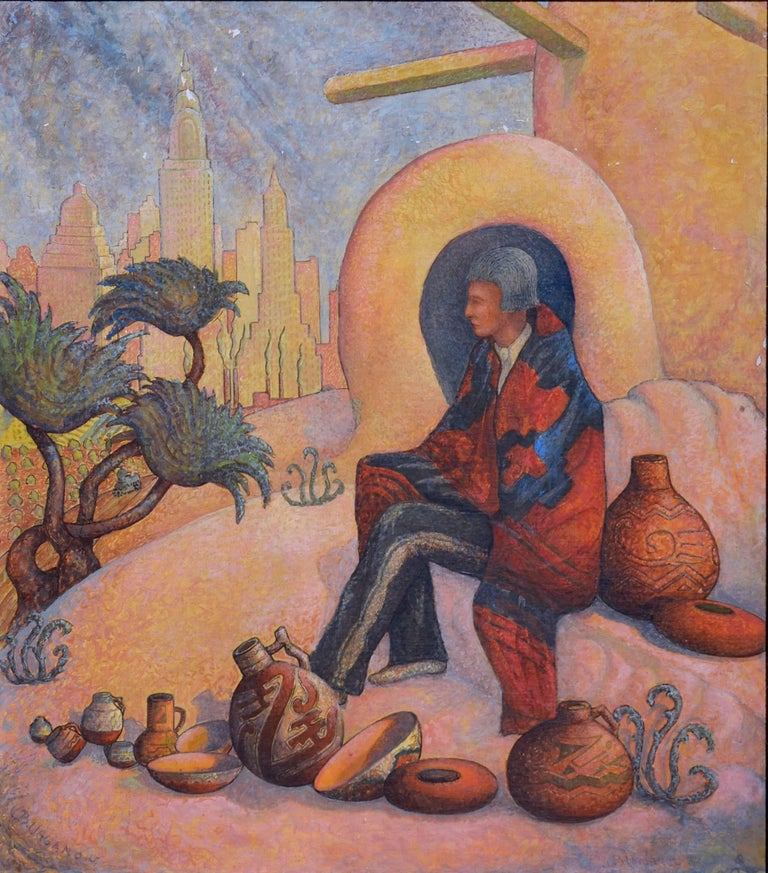 Once The Master  - Painting by Benjamin G. Vaganov