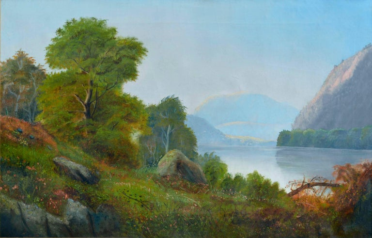 Hudson River School after Asher Durand - Painting by Hudson River School, Circa 1850