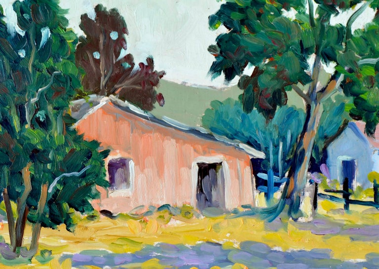 Carmel Valley Landscape  - Painting by Ray Barton