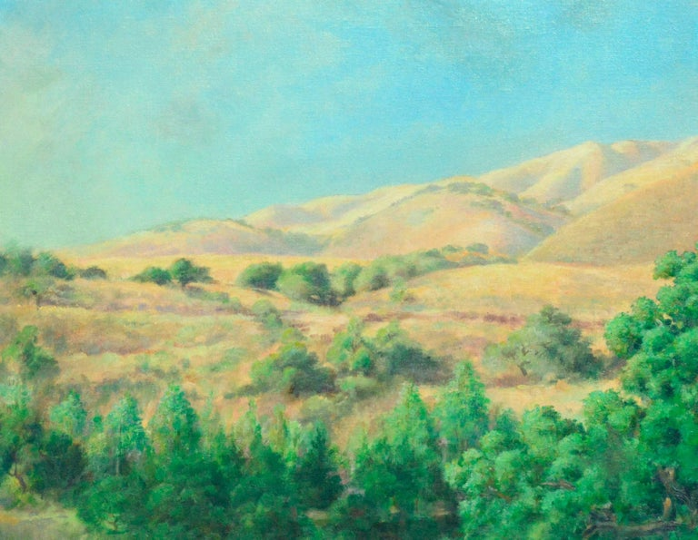 California Foothills - Painting by Walter Kenrick Fisher
