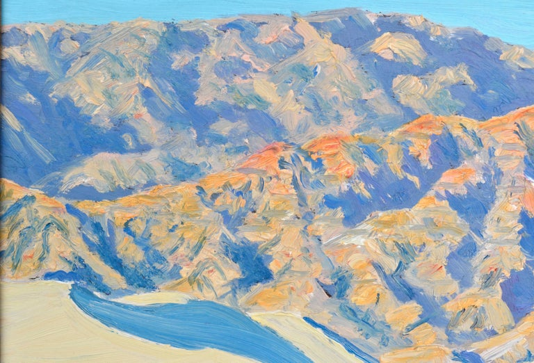 Death Valley, California - American Impressionist Painting by Mike Wright