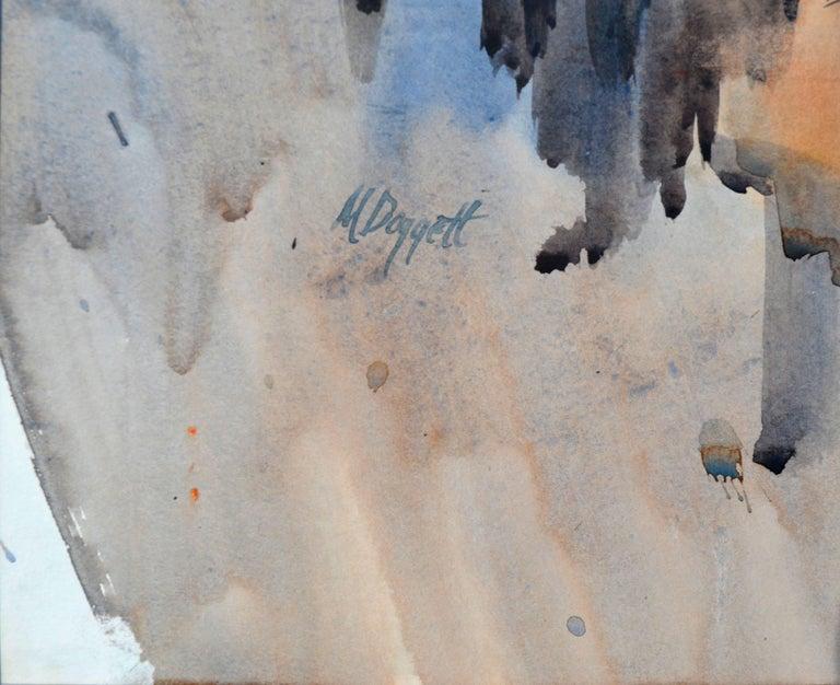 City Beach San Francisco Bay Area - American Impressionist Art by Noel Daggett