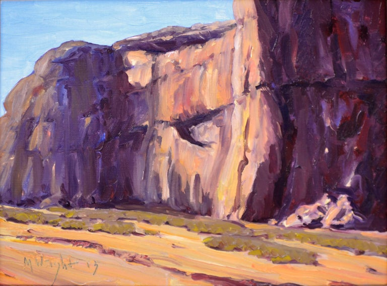 Capitol Reef National Park, Utah Landscape - Painting by Mike Wright