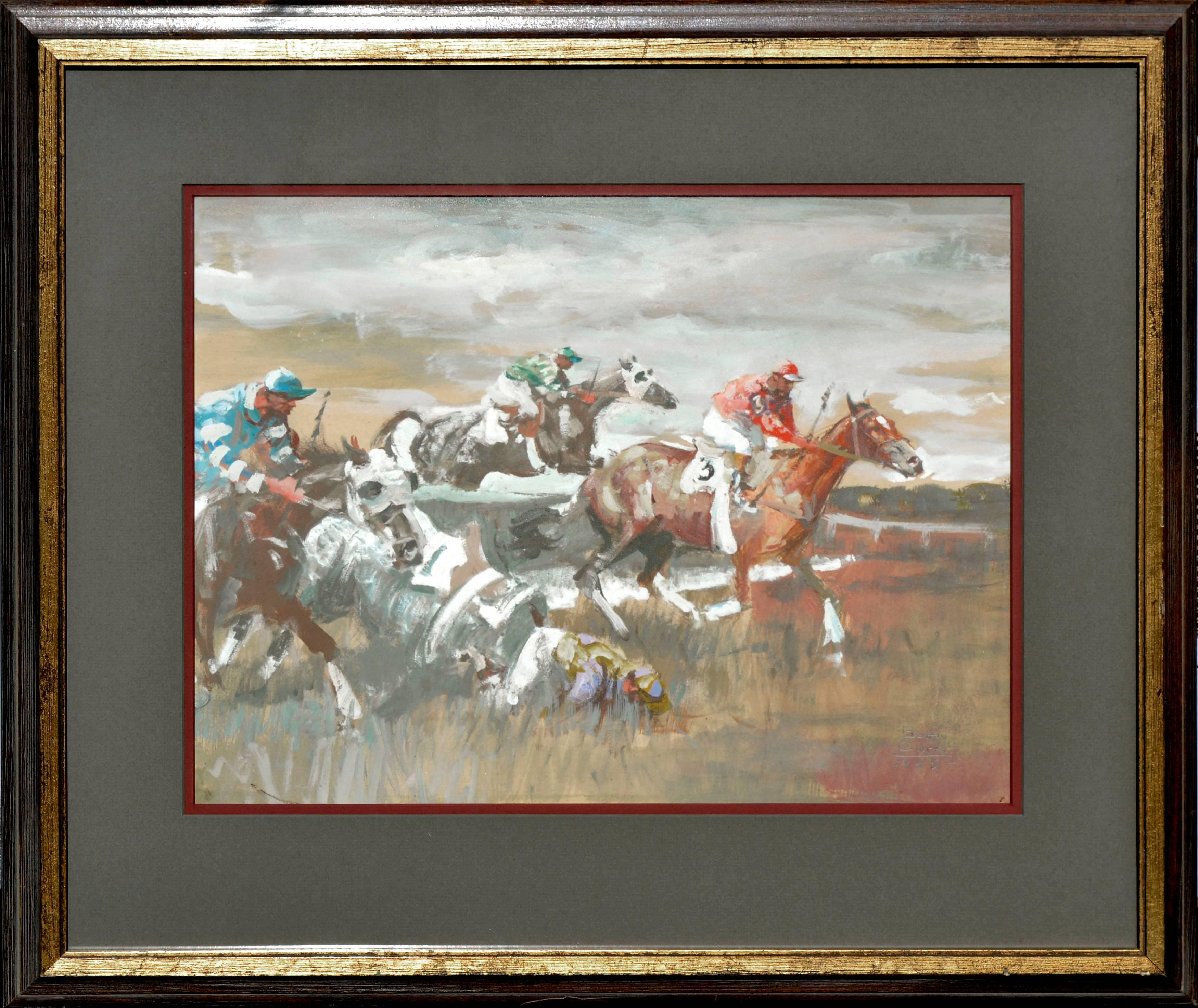 The Steeple Chase figurative